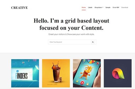 creative-template