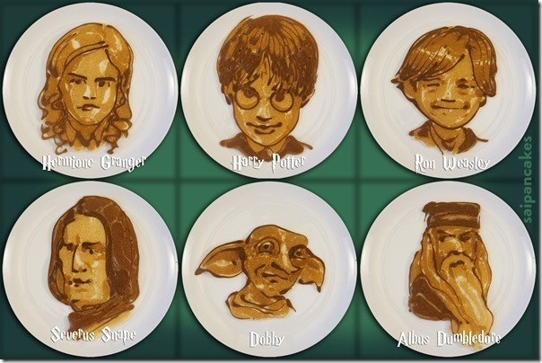 Harry Potter Pancakes by Saipancakes