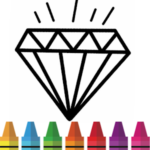Diamond Coloring & Drawing for kids For PC / Windows 7/8/10 / Mac – Free Download