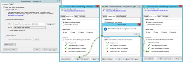 2 - Associating Work Items with Changesets from Toad For Oracle 12.6 - Toad Set Up