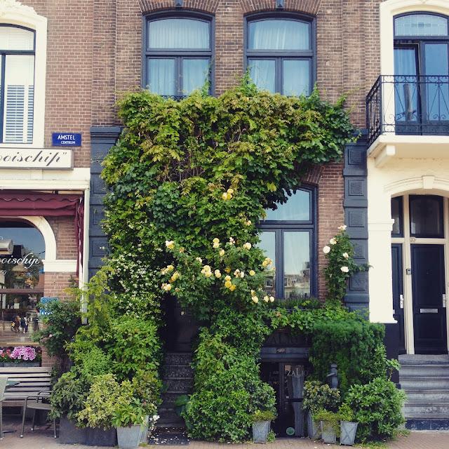 Pretty Amsterdam doorway