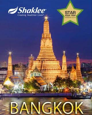 Shaklee Star Asia Trip Bangkok 2016 Percuma