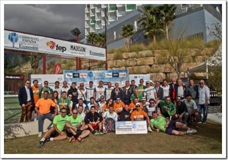 Foto familia I Campeonato de España de Empresas Expansión 2015