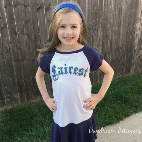 Daydream Believers for Jaxon Paige Descendants tee upcycle