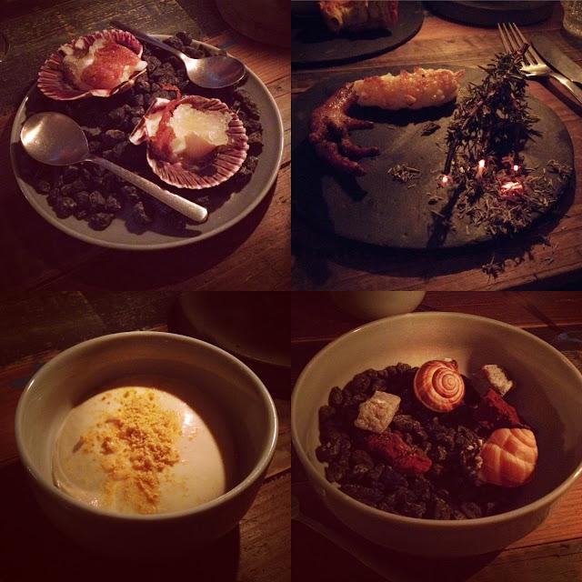 Dinner at Restaurant Höst, Copenhagen, Denmark