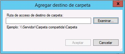 Crear espacio de nombres en DFS de Windows Server 2012 R2