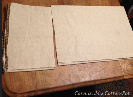 Drop Cloth Decor