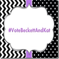 #VoteBeckettAndKat