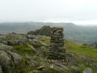 Harter Fell Summit Trig Pillar