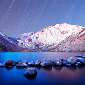 Convict lake . by Hai Le - Landscapes Starscapes
