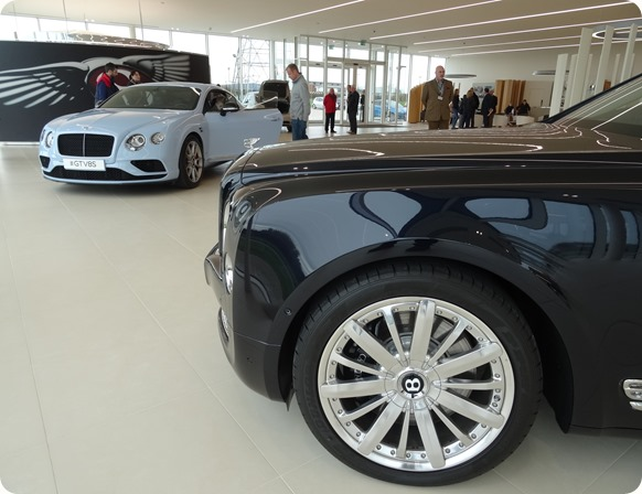 Two from the Bentley model range