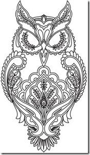 dibujos de buhod en blanco y negro (30)