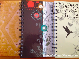 French Village Diaries La Rentrée back to school Hogwarts Harry Potter notebooks Lycée boarding