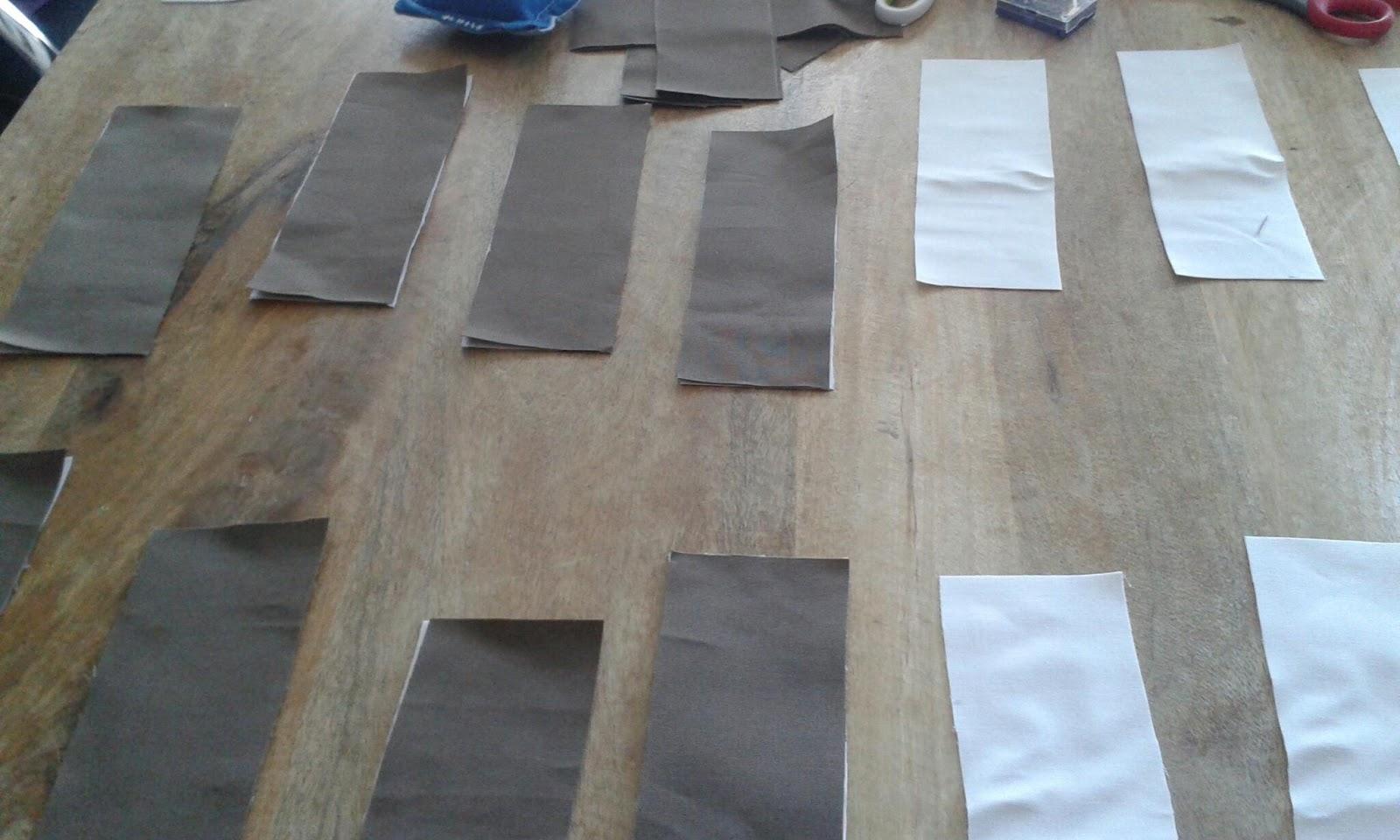 Mijn creatieve hoekje: Deel 1: gordijnen maken met lussen.