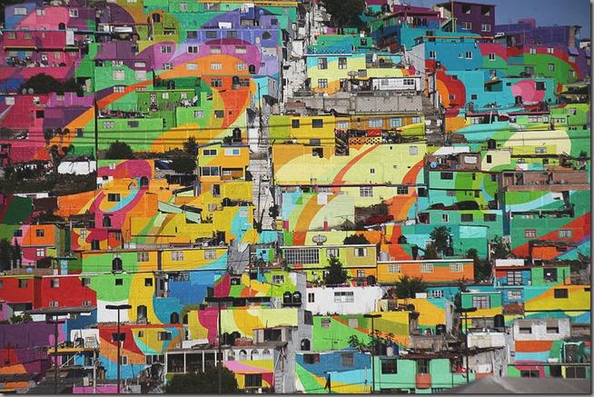 GiganticStreetArtPaintingon200HousesinMexico5-900x600