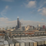 The Chicago skyline seen from the Amtrak window 01142012i