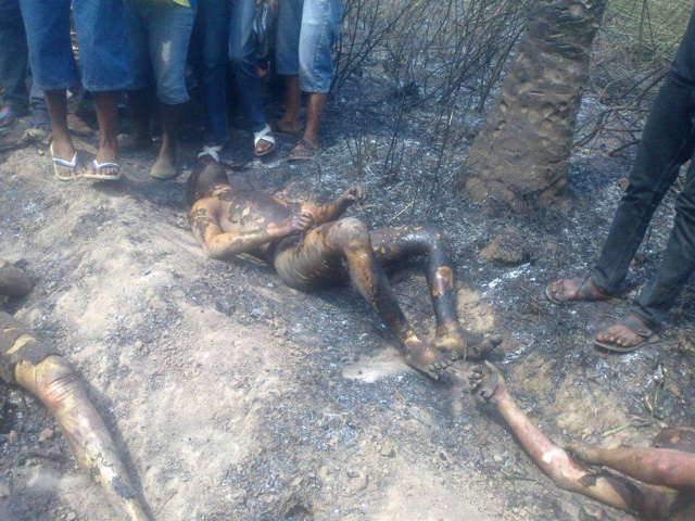 PHOTOS: Over 100 Die In Nnewi Gas Plant Explosion 15