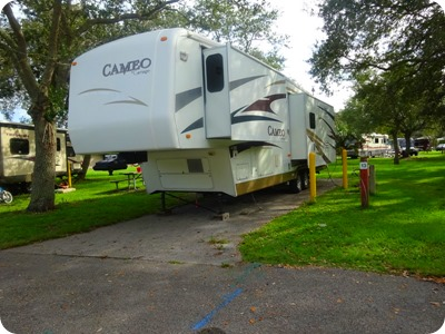 Larry and Penny Thomnpson RV Park