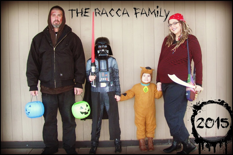 Racca Fam Halloween 2015