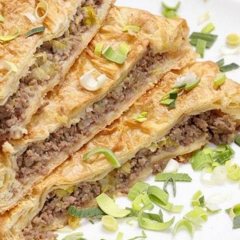 Meat Pie On A Puff Pastry