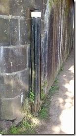 1 towline roller top bridge at stone