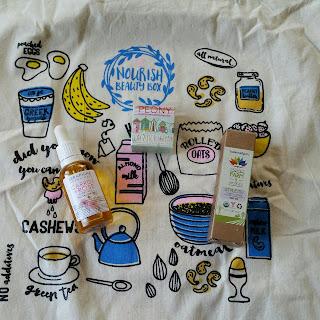 Nourish Beauty Box September 2015