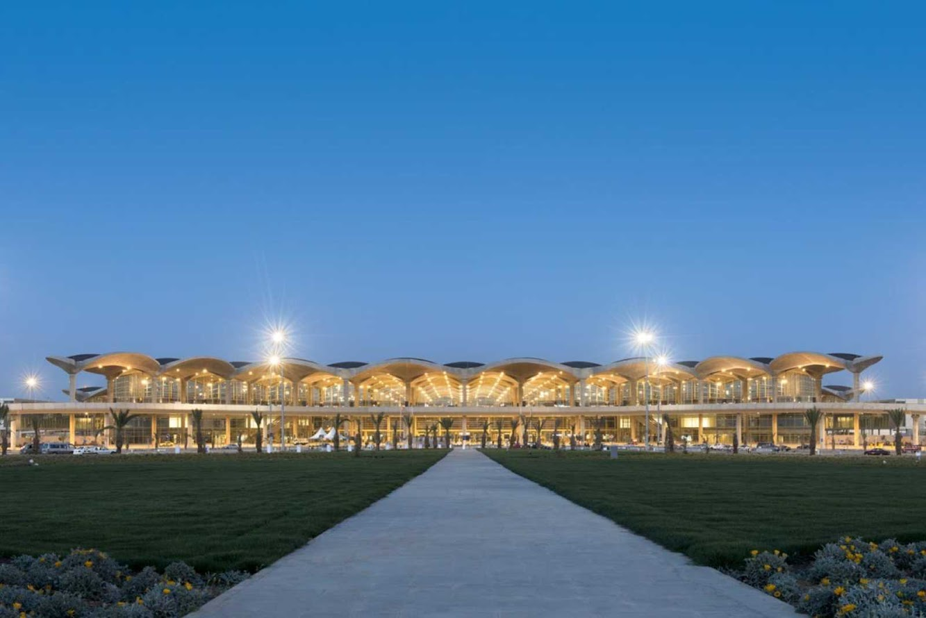 Amman, Giordania: Queen Alia International Airport by Foster + Partners