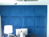 Upholstered wall boca raton home office