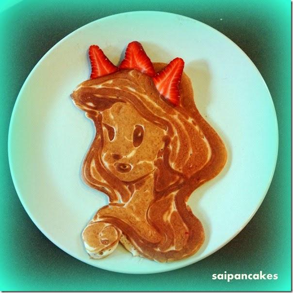Ariel pancake
