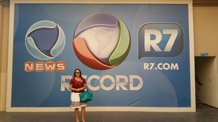 Mauriceia Cavalcante na Record