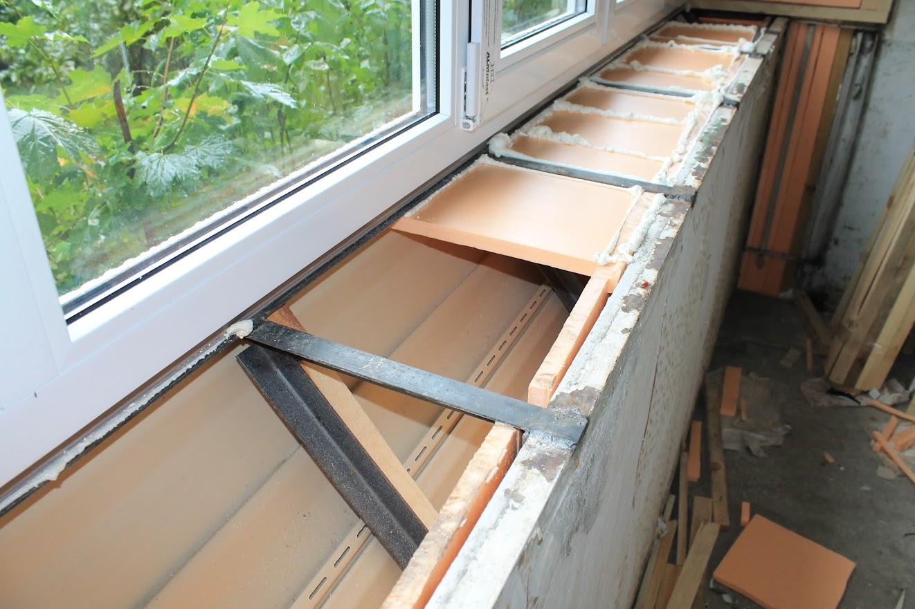 Как утеплить балкон по металлическому каркасу..