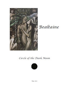 Cover of Anonymous's Book Bealtaine Circle Of The Dark Moon