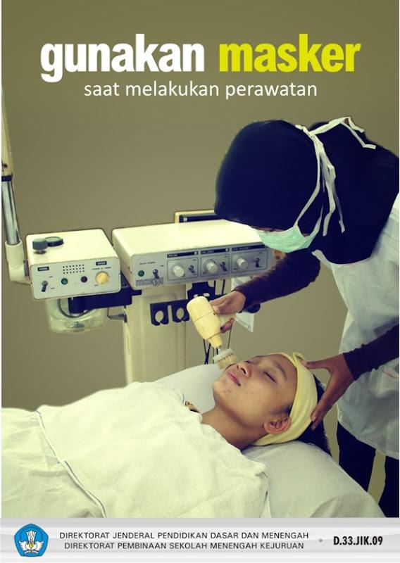Gunakan masker saat melakukan perawatan