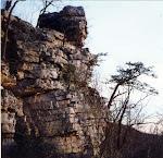 Underneath Annapolis Rocks, by the Appalachian Trail near Myersville, Maryland.