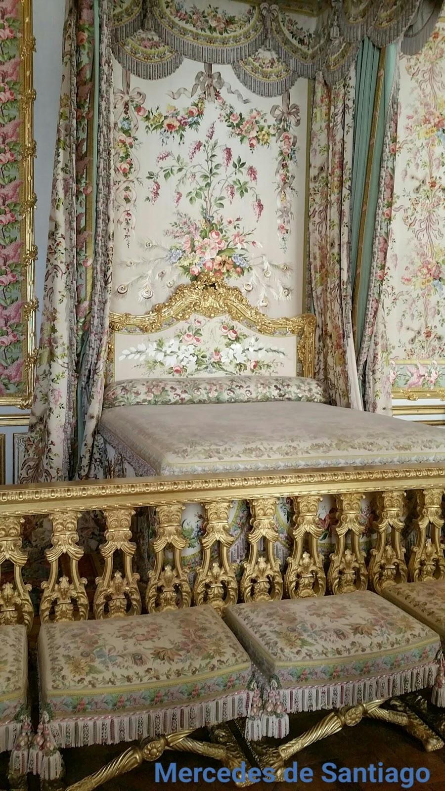 Habitación de la Reina (detalle), Palacio de Versalles