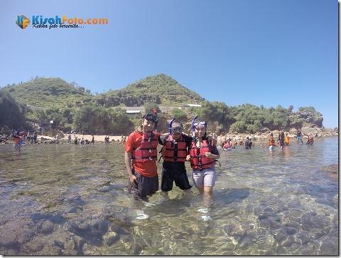 Snorkeling Pantai Nglambor Kisah Foto Blog01
