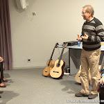 Se probaron las guitarras de los luthiers Donatella Salvato (Italia) y Daniel Bernaert (Bélgica) y Guitarras Alhambra