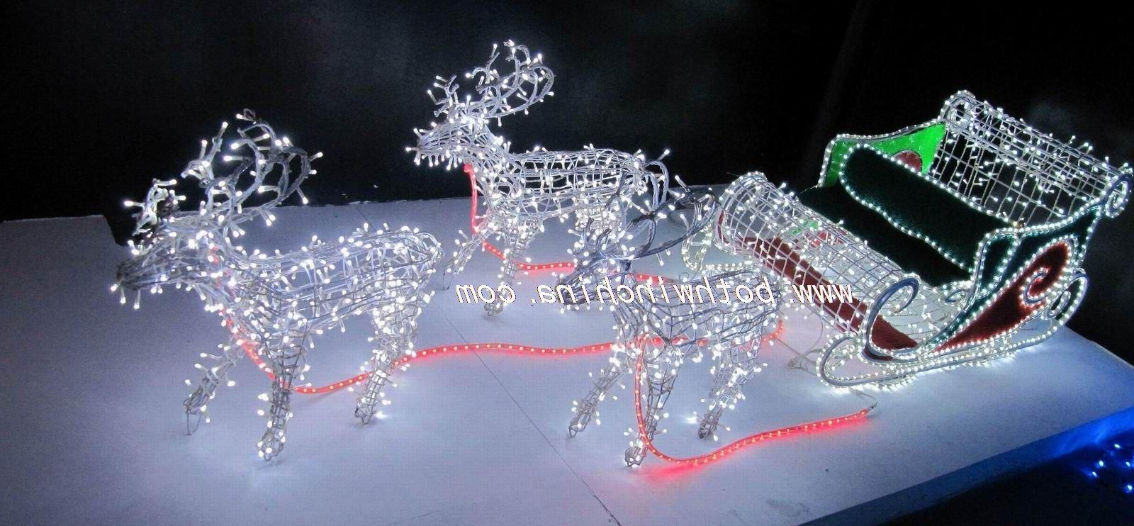 LED 3D motif animals lights