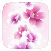 App Dancing Flowers Theme APK for Windows Phone
