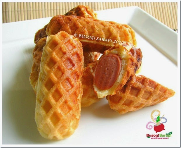 how to make waffle hotdog