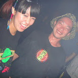 Japanese ravers in japan in Osaka, Osaka, Japan
