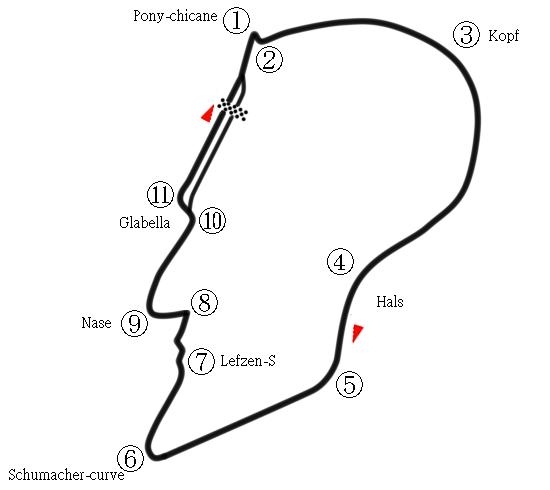 трасса Михаэля Шумахера - Schumacher Circuit by Kaito