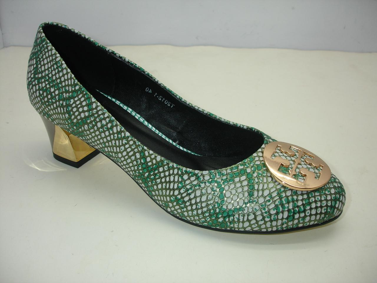Tory Burch Heel Shoes Green