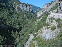 Südrampe des Col de Toutes Aures (1120 m).