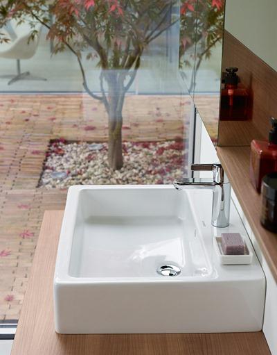 hay una gran variedad y diferentes formas para elegir entre los lavabos sobre encimera se pueden combinar con encimeras de diferente material como madera