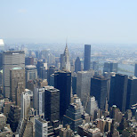 view from the empire state building in New York City, New York, United States