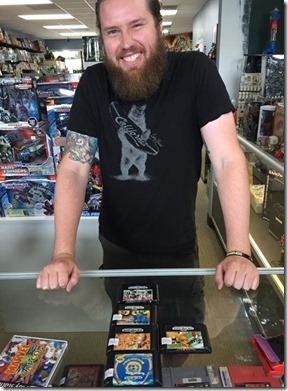 Jordan Cheek löysi lapsuuden aikaiset pelinsä (c) Retro Reboot