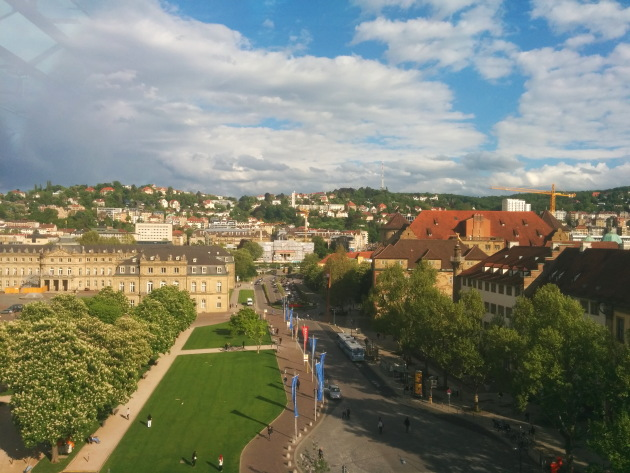 Stuttgart Aerial view