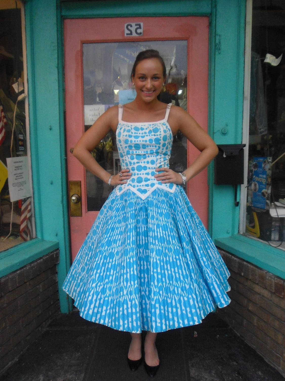 Amazing 1950s Vintage Dress