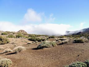 Fog Rolling In - Mt Teide